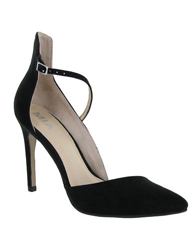 MIA Mona Faux Leather Heels