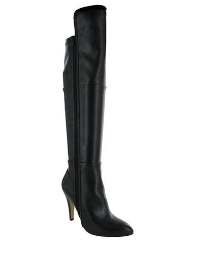 MIAAnastasia Faux Leather Knee High Boots