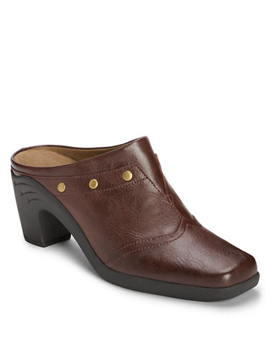 AEROSOLES Sawcremento Faux Leather Mules