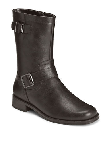 AEROSOLES Take Pride Faux Leather Boots