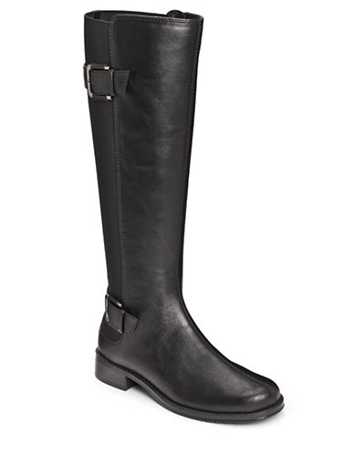 AEROSOLES Override Faux Leather Boots