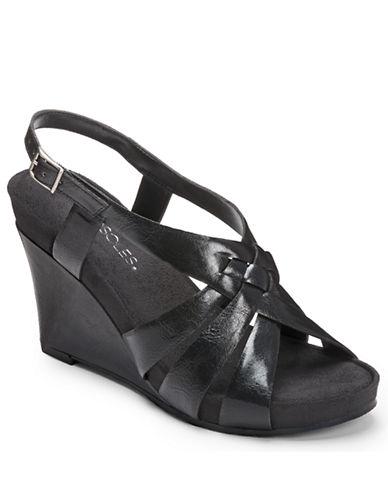 AEROSOLESGuavaplush Cork Wedge Sandals