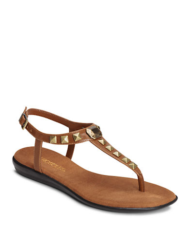 AEROSOLES Chlose Together Faux Leather Sandals
