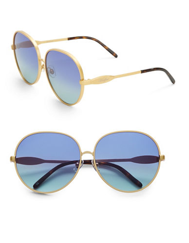 WILDFOXFleur 63mm Oval Sunglasses