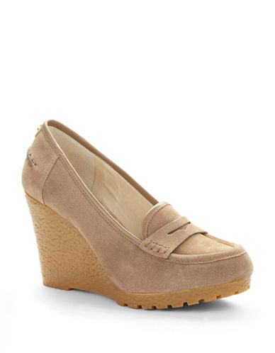 MICHAEL MICHAEL KORS Rory Wedge Loafers