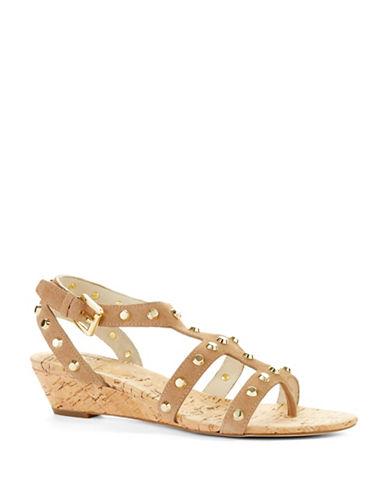 MICHAEL MICHAEL KORSJolie Studded Wedge Sandals