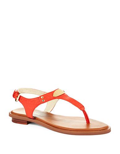 MICHAEL MICHAEL KORSPlate Thong Sandals