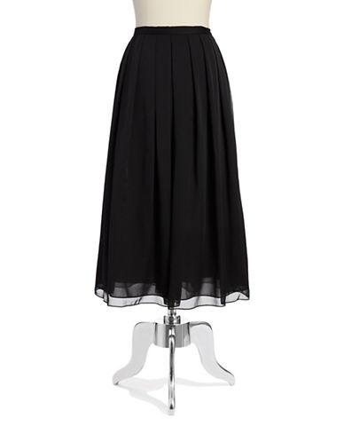 ADRIANNA PAPELLPleated Chiffon Skirt