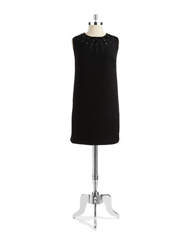 ADRIANNA PAPELLPlus Embellished Sheath Dress