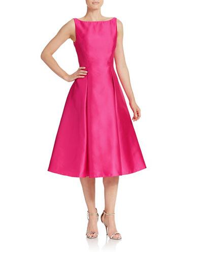 Womens Xscape Floral Print Fit Flare Dress