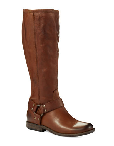 FRYEPhillip Harness Wide Calf Riding Boots