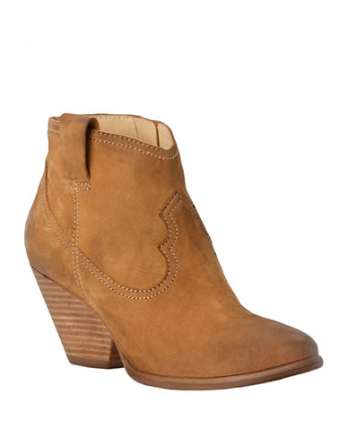 FRYE Reina Leather Ankle Boots
