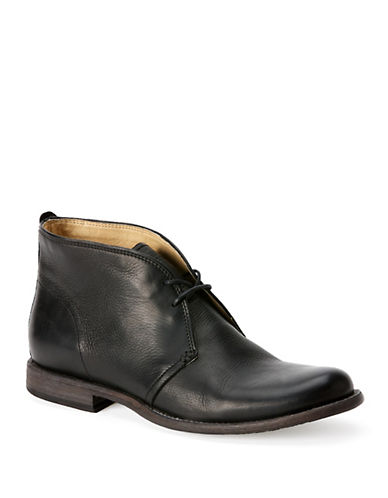 FRYE Phillip Leather Chukka Boots
