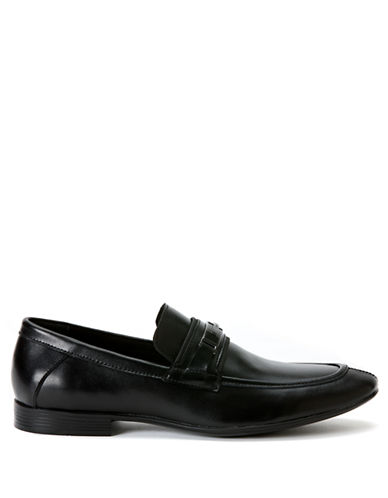 CALVIN KLEINOneil Leather Bit Loafers