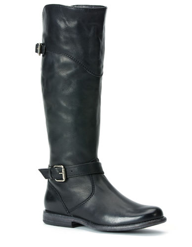 FRYE Phillip Leather Tall Riding Boots