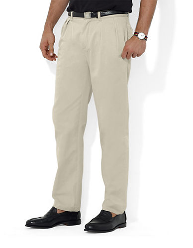 POLO RALPH LAURENClassic Fit Pleated Chino Pants