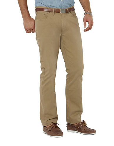 POLO RALPH LAUREN Straight-Fit Five-Pocket Chino Pants
