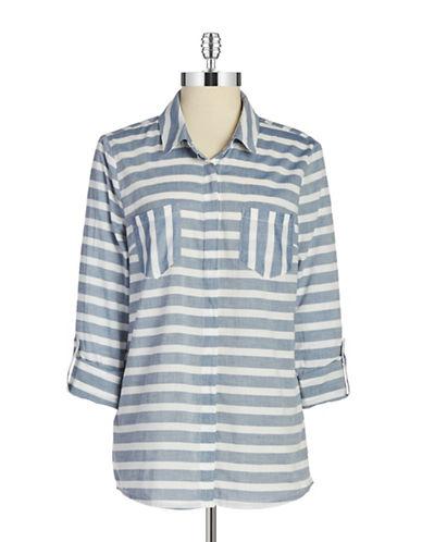 SPLENDIDStriped Button-Front Shirt