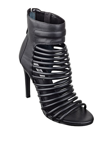GUESS Conny Leather High-Heel Sandals