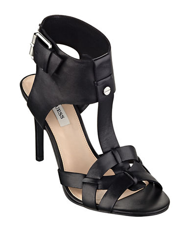 GUESS Hyanne Leather Sandals