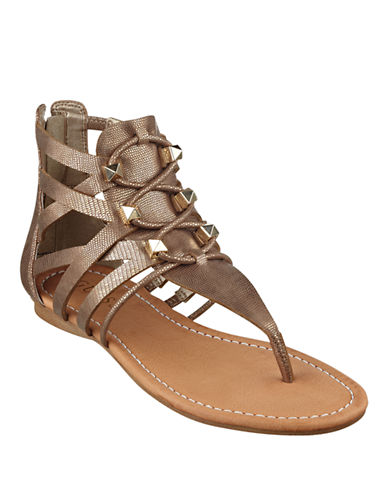 GUESS Glando Gladiator Thong Sandals