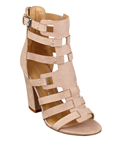 IVANKA TRUMP Elston High-Heel Leather Sandals