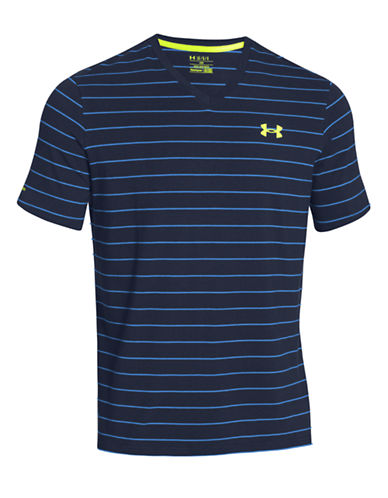 UNDER ARMOURCharged Cotton Pinstripe T-Shirt
