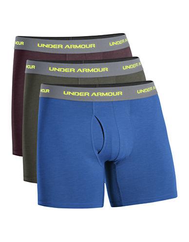 "Under Armour Cotton Stretch 6"" Boxerjock Set"