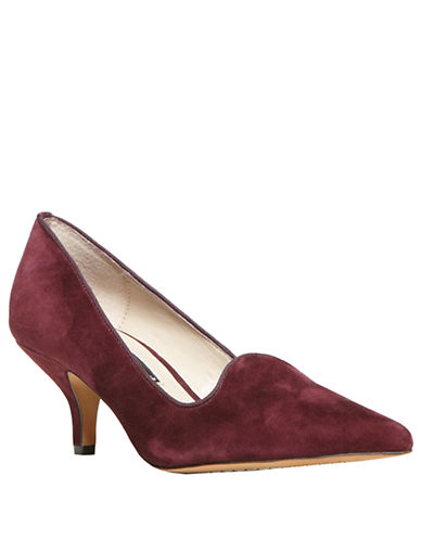 STEVEN BY STEVE MADDEN Corry Suede Pumps
