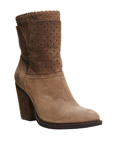 STEVEN BY STEVE MADDEN Kobrra Leather Heeled Boots