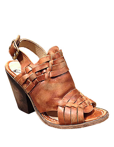 FREEBIRD BY STEVEN Falcon High-Heel Leather Sandals