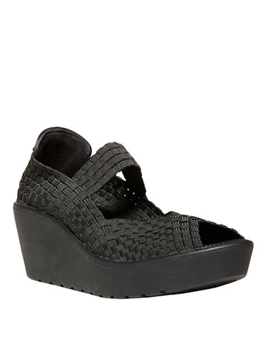 STEVEN BY STEVE MADDEN Brynn Fabric Woven Wedges