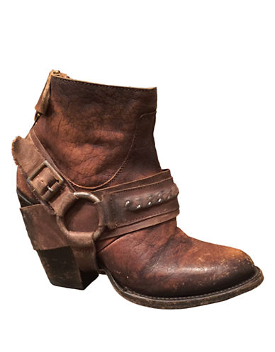 FREEBIRD BY STEVEN El Paso Bovine Leather Booties
