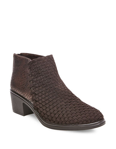 Buy Penga Zipped Ankle Boots by Steven By Steve Madden online