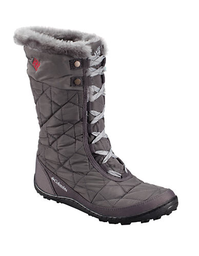 COLUMBIAMinx Mid II Omni-Heat Faux Fur-Trimmed Boots
