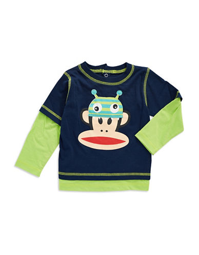 PAUL FRANK Baby Boys Monster Hat T Shirt