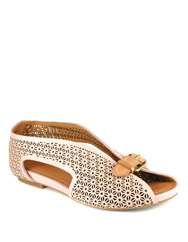 GENTLE SOULS Blessword Leather Flats