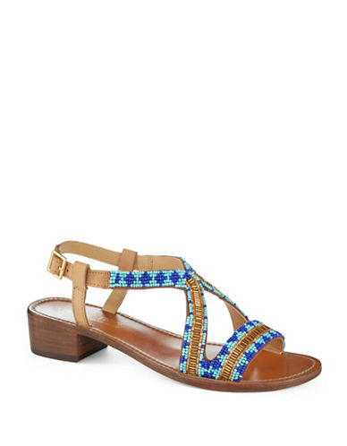 KENNETH COLE REACTION Blocky Beaded Sandals