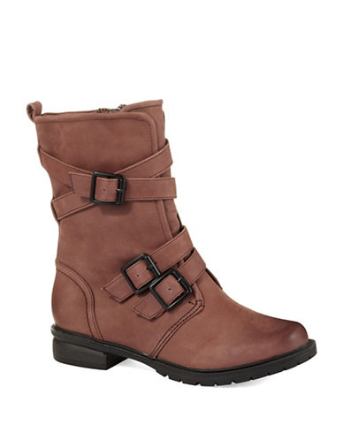 KENNETH COLE REACTIONClosing Buckle Boots
