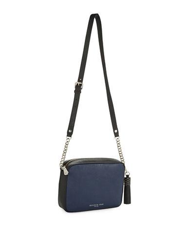 KENNETH COLE NEW YORKSaffiano Leather Crossbody Bag