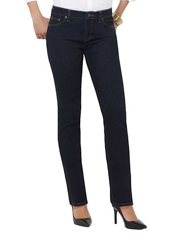 LAUREN RALPH LAURENCurvy Super Stretch Straight-Leg Stretch Jeans