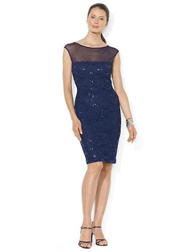 LAUREN RALPH LAURENSequined Lace Dress