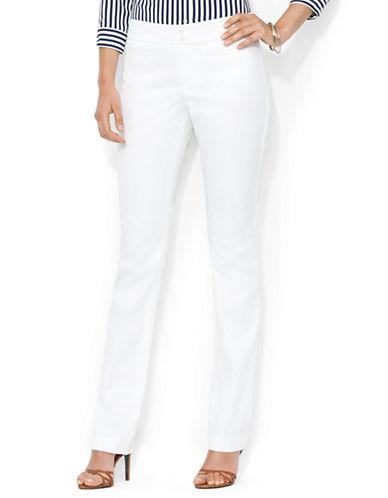 LAUREN RALPH LAURENPetite Cotton Twill Straight Pants