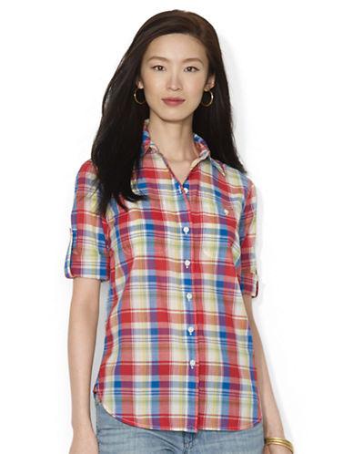 LAUREN RALPH LAURENPetite Lightweight Plaid Shirt