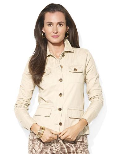 LAUREN RALPH LAURENCotton Herringbone Jacket