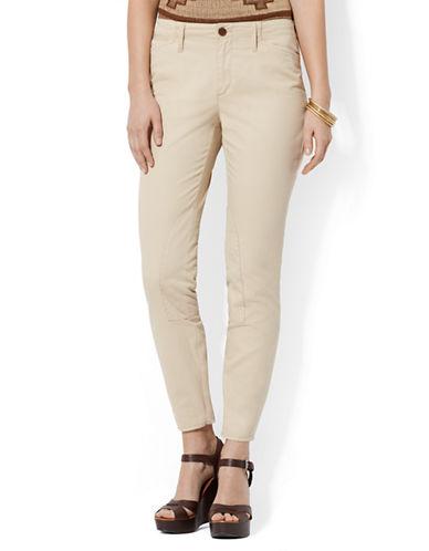 LAUREN RALPH LAURENCropped Cotton Jodhpur Pants
