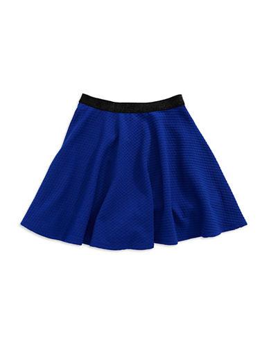 SOPRANOGirls 7-16 Textured Skater Skirt