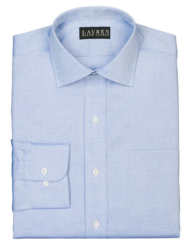 Lauren Ralph Lauren Slim-Fit Pinpoint Oxford Spread-Collar Dress Shirt