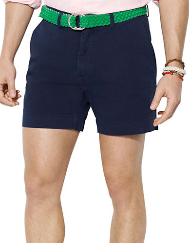 POLO RALPH LAURENClassic-Fit Flat-Front Chino Shorts