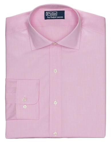 POLO RALPH LAURENRegular Fit Glen Plaid Poplin Regent Dress Shirt